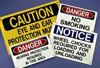 MS-215 MAX-TEK Safety/Operational Signs